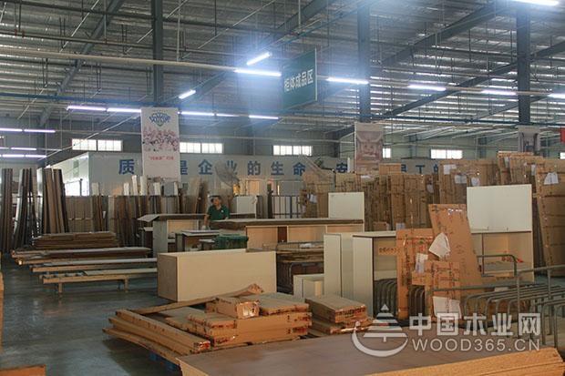 中国木业网与鹏森缘领导一行到访亚丹家居