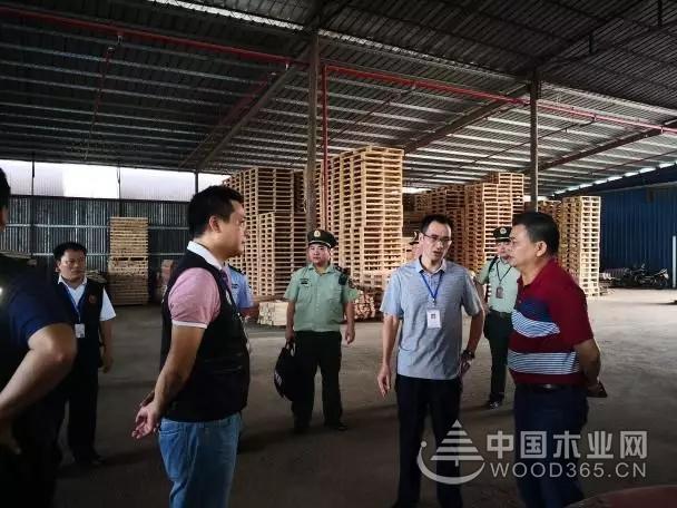 顺德伦教多部门联动整治,三洲木材市场8家木企被封停!