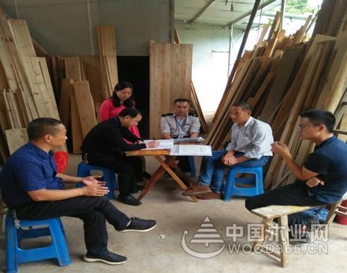 四川纳溪区开展木材加工厂节前安全检查