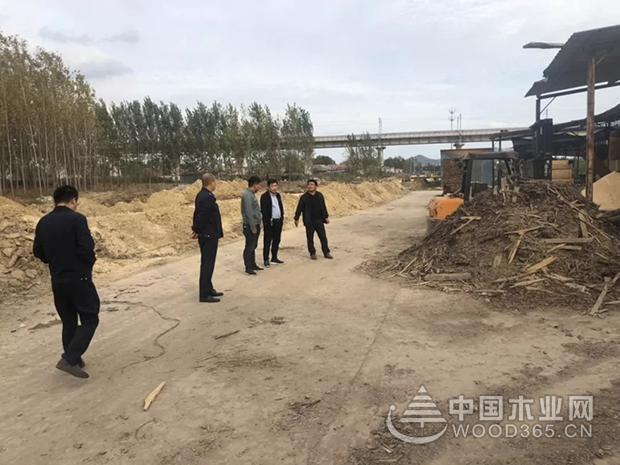 日照市岚山区安东卫街道召开木材行业专项整治会议