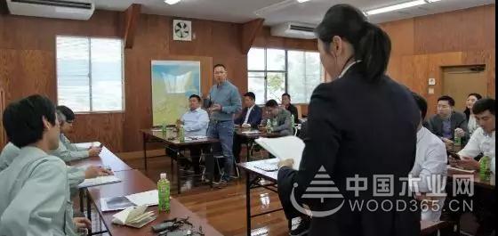 桑墟镇板材企业家赴日本商务考察