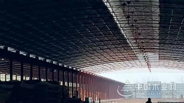 沭阳某木材加工厂违法用地,还建在35千伏高压线下