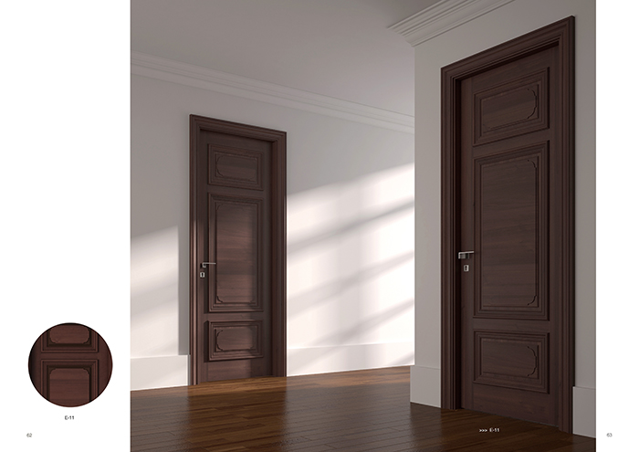 装点家居,这样'走心'设计的木门必不可少!