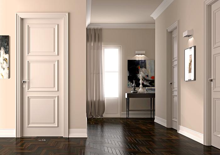 益圆木门打造简欧式家居,一种宁静的贵族气质彰显无遗