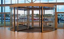 三翼旋转门结构优点和三翼旋转门尺寸介绍