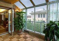 装饰阳台小空间 防腐地板是首选