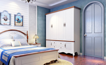 卧室房门颜色效果图