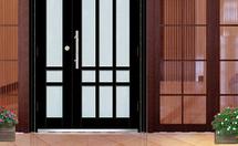 玻璃防盗门的特点