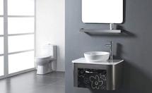 玻璃浴室柜与PVC浴室柜相比哪个好?