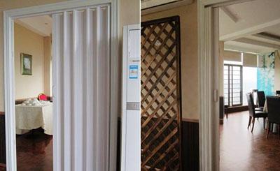 pvc折叠门安装和价格介绍