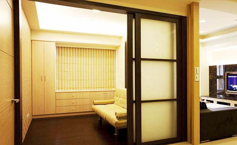 客厅隔断门设计和选择技巧