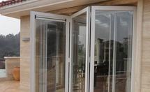 铝合金折叠门保养和维修