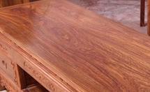 区分刺猬紫檀木与非洲亚花梨木方法