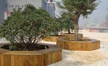 柳桉防腐木花箱的五大优点