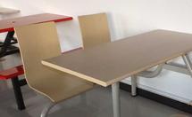 快餐桌尺寸一般是多少?