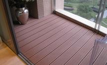 户外木塑地板安装过程