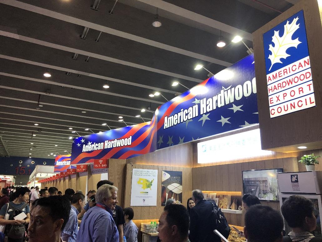 将低碳环保生活方式进行到底-美国阔叶木外销委员会携29家展商亮相2019中国广州国际家具生产设备及配料展览会
