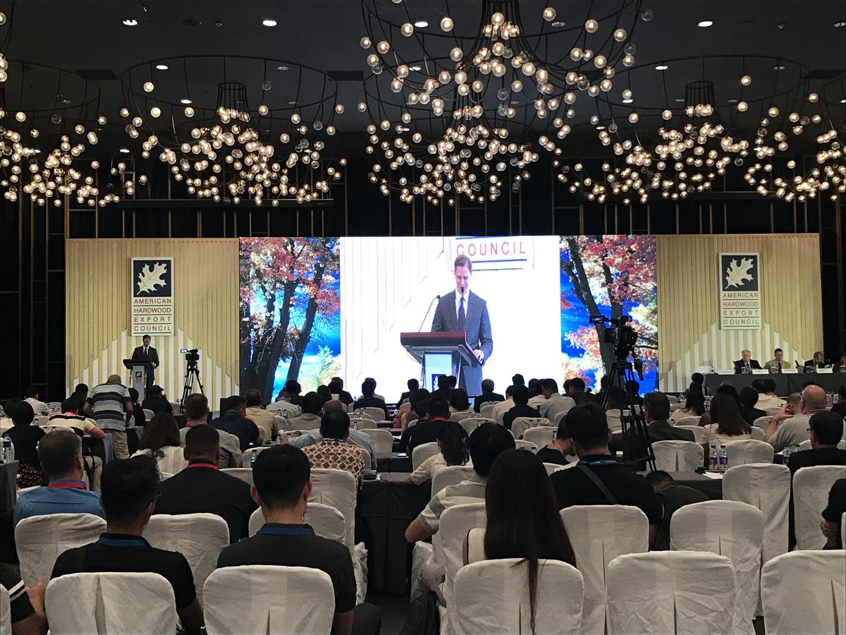 第二十四届美国阔叶木外销委员会东南亚及大中华区年会将于中国宁波举行