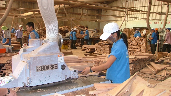 2017年7月<font color=#FF0000>越南</font>木制品出口额达5.5亿美元