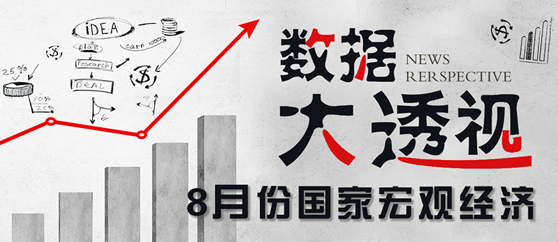 【专题】8月份国家宏观经济数据大透视!