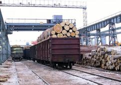 2017年满洲里关区俄产<font color=#FF0000>木材</font>进口量同比上涨7.2%