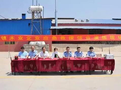 费县薛庄镇组织开展木业应急救援演练