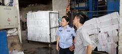 无锡惠山区开展木制品行业联合执法检查