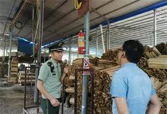 贵州册亨深入辖区木材加工厂开展消防安全检查