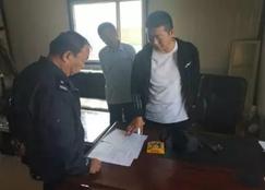 内蒙古将军尧镇对所管辖木材厂进行安全检查