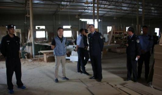 吴江七都镇对盛庄村木材市场进行整治
