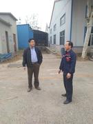 寿光市对古城街道木材加工企业进行保险生产检查