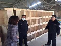 山东寿光圣城街道开展木制品企业消防安全专项检查