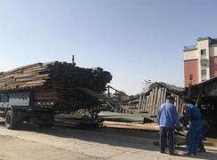 浙江上虞<font color=#FF0000>木材市场</font>月底将完成全部搬迁