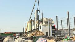 华中木业家居产业园二期项目开始集中供热