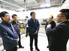 二连浩特领导走访调研边民互市贸易区和木材加工企业