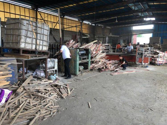 四川马祖镇开展木材加工企业保险环保检查行动