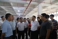 贵州赤水市委书记况顺航率队调研经开区家具产业园