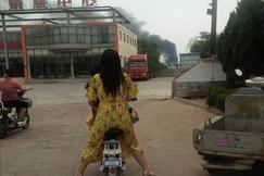 山东茌平一木业公司发生火灾