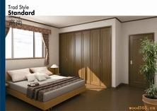 室内门,壁橱门,地板,窗框,地角线,棚角线