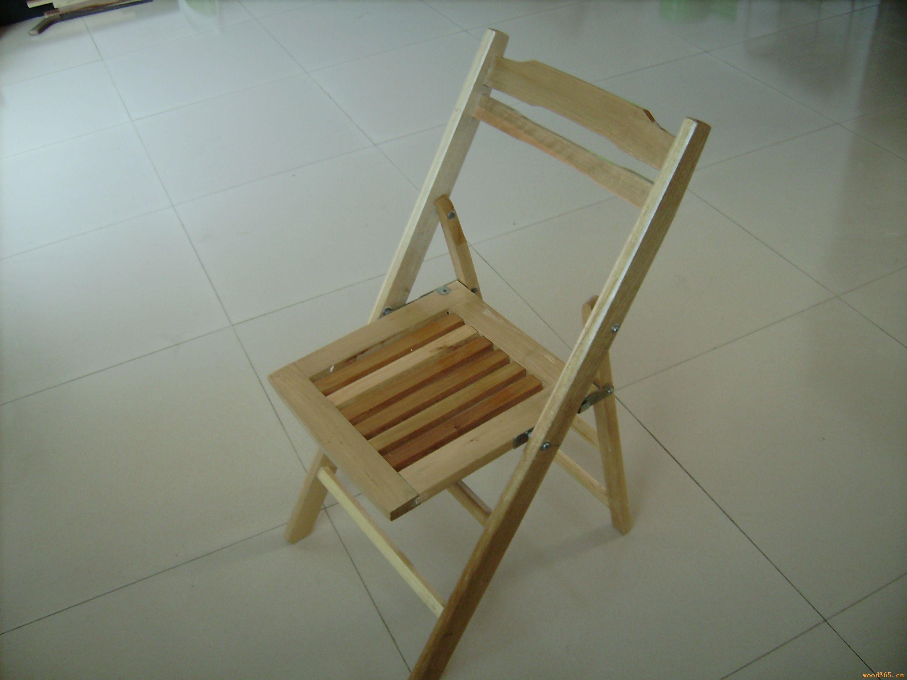 杂木折叠椅子