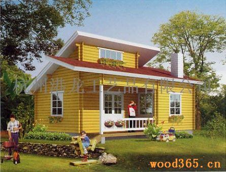 作用的木结构房屋