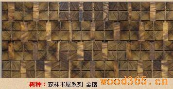 森林木屋文化墙系列