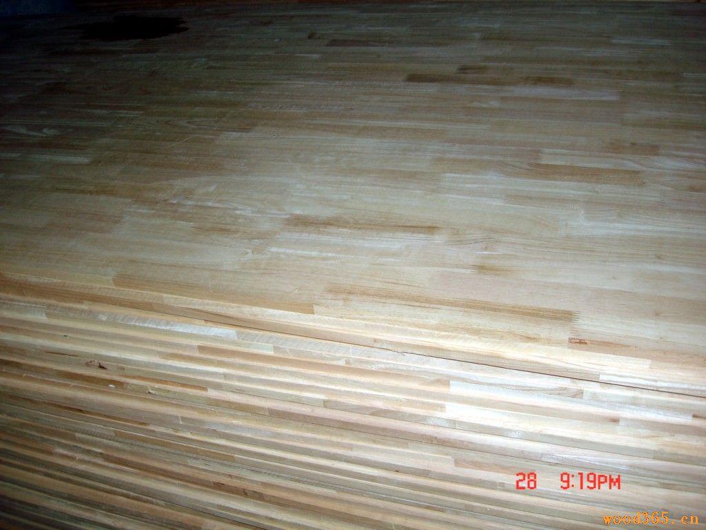 进口泰国橡胶木指接板 橡胶木拼板 橡胶木齿接板 国产橡胶木拼板 国产