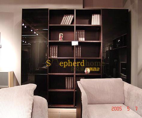 喜克索/书房家具/定制/现代/简约/板式/书柜