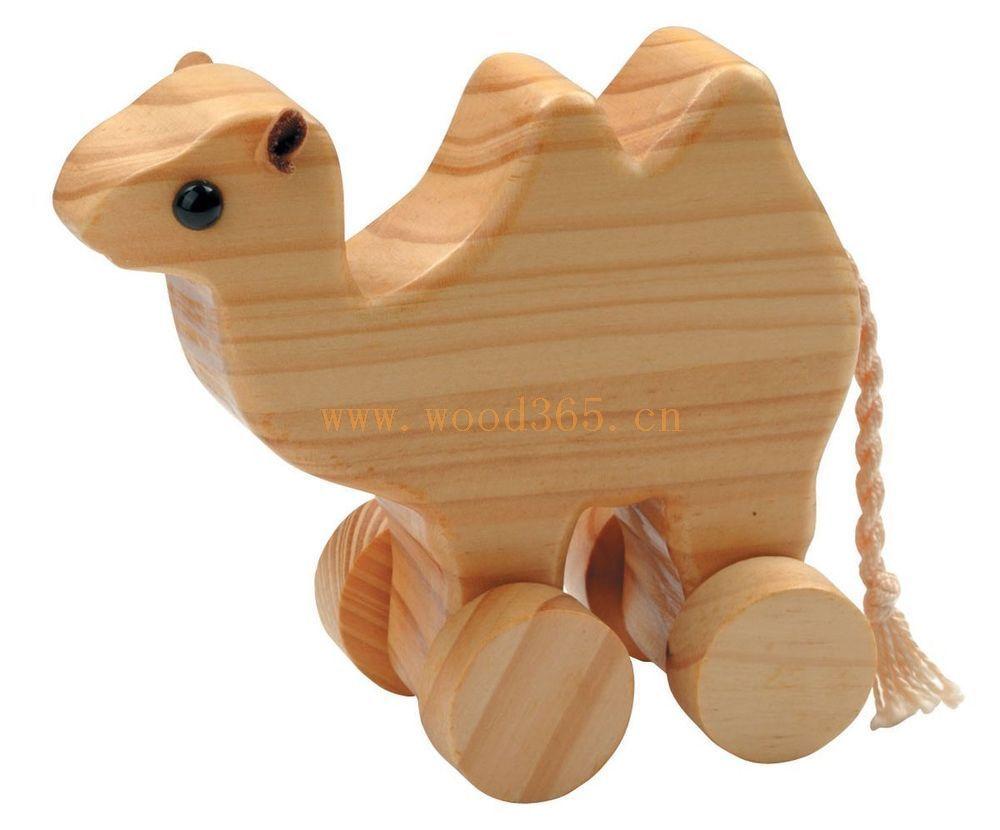 木制品玩具-木制动物