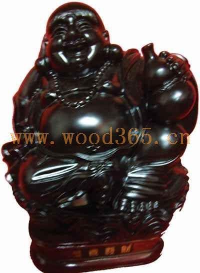 黑檀木根雕摆件,黑檀木木雕摆件