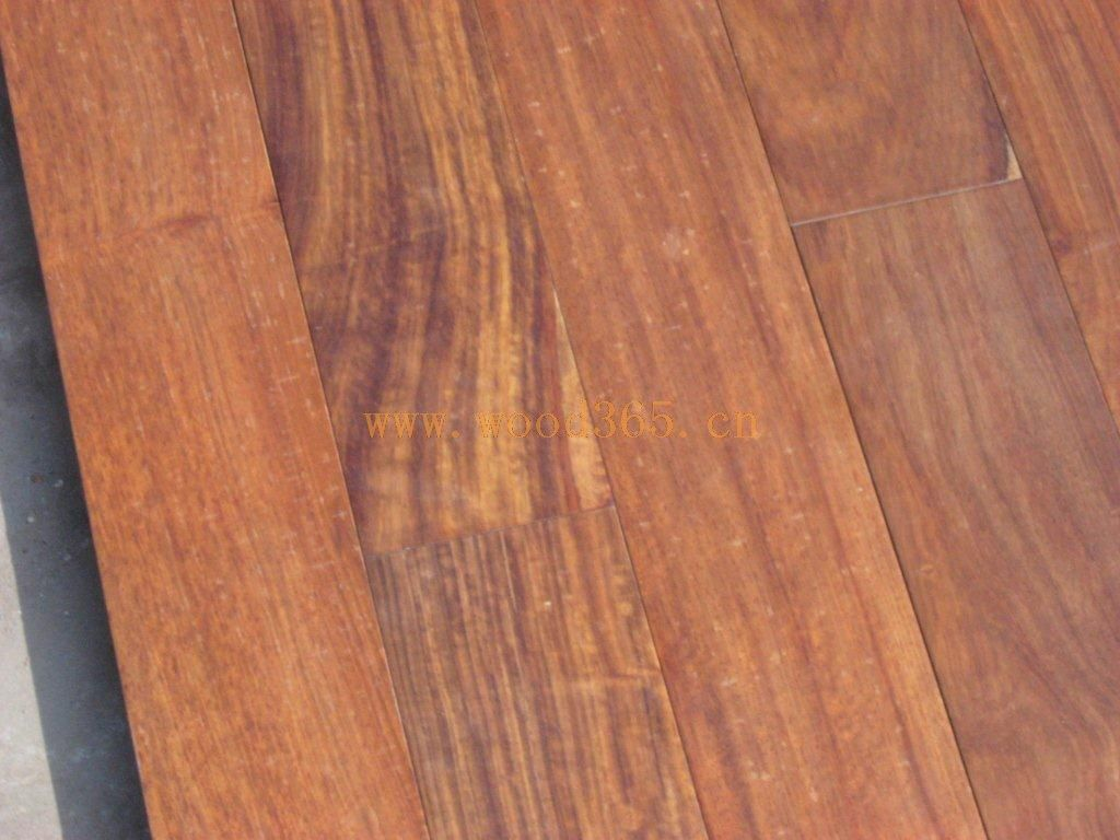 紫檀木实木地板