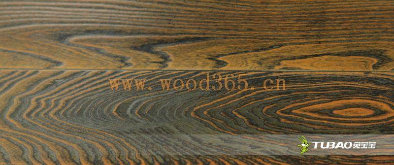 供应兔宝宝实木复合地板:特色仿古系列-榆木TBL-603