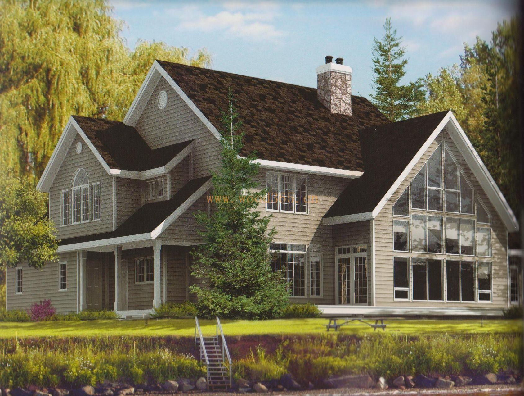 加拿大輕木別墅