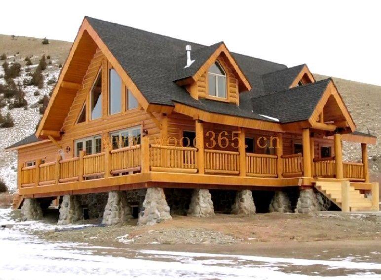 木头房屋图片